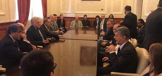 Diputados se reunieron con cuerpo diplomático acreditado en el país |Foto: Prensa AN