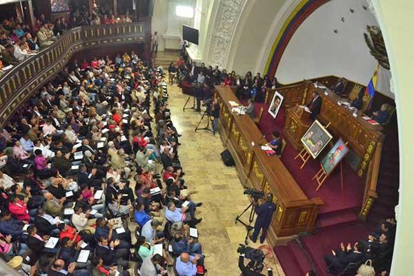 Asamblea Nacional Constituyente | Foto: @ANC_ve