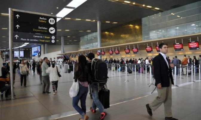 Aeropuerto colombiano |Foto referencial (cortesía AFP)