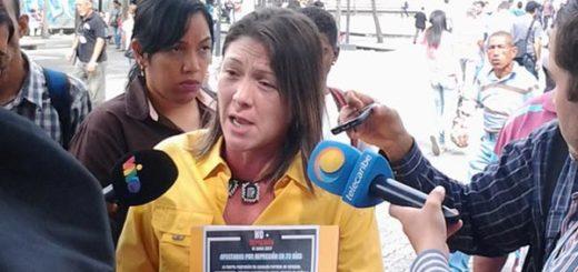 Amelia Belisario, diputada de la AN |Foto: Nota de prensa