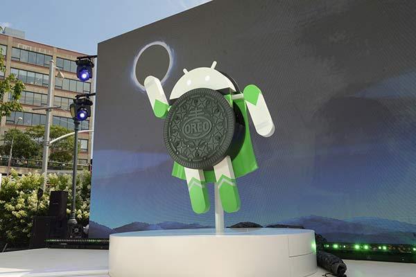 Android Oreo, la nueva versión del sistema operativo  Foto: AFP