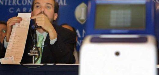 Cómo funciona el sistema de voto electrónico de Smartmatic | Foto: AFP