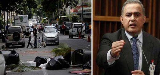 """Saab ordena investigación por """"delitos ambientales"""" durante protestas opositoras   Composición"""