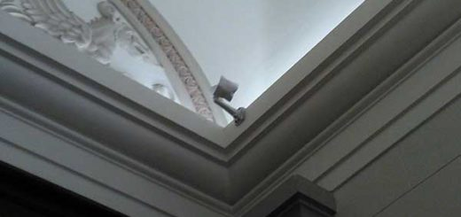 Cubrieron cámaras de seguridad de la Asamblea Nacional | Foto: @AsambleaVE