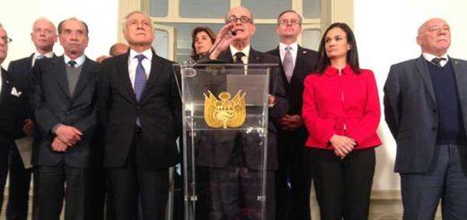 Cancilleres de América no reconocerán Constituyente ni sus actos | Foto: @CancilleriaPeru