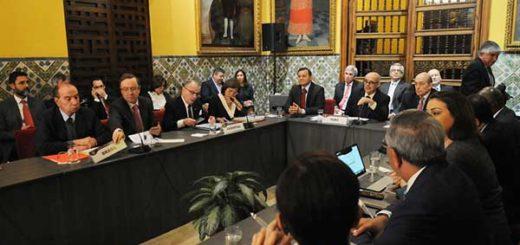 Cancilleres de 17 países evalúan condena a Venezuela por ruptura democrática | Foto: @CancilleriaPeru