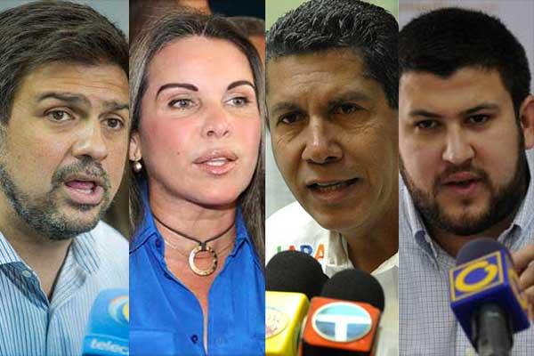 Precandidatos opositores | Composición: NotiTotal