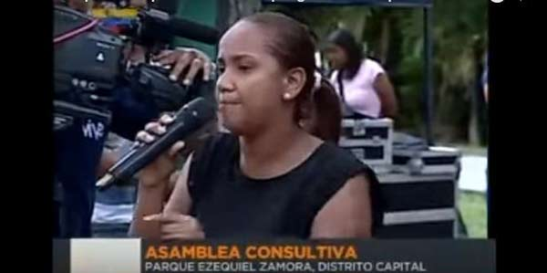 Chavista asegura que prefiere pasar hambre a que la oposición gobierne |Captura de video