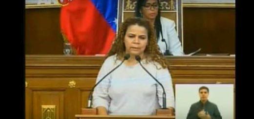 Iris Varela desde la Asamblea Nacional Constituyente |Captura de video