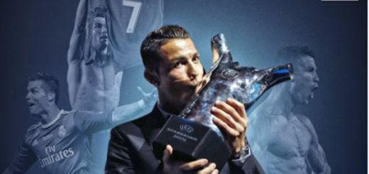 El mejor jugador de la temporada, Cristiano Ronaldo |Foto cortesía
