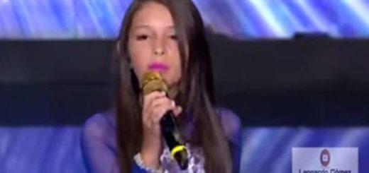 Valentina, una niña venezolana que emigró de Venezuela hace cuatro meses a Ecuador |Captura de video