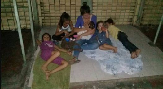 Venezolanos en Maicao, Colombia   Foto: Twitter
