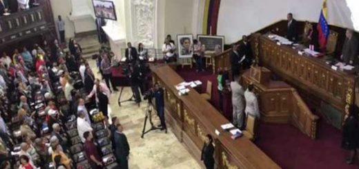 ANC juramentó constituyentes electos tras repetición de comicios | Captura de video