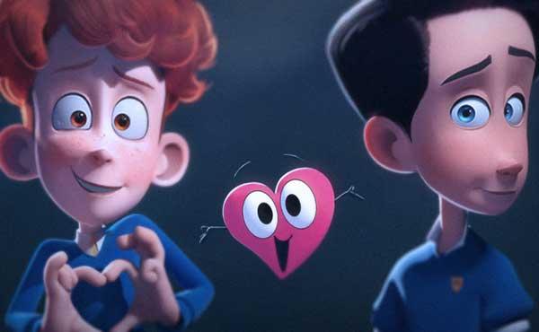 El corto animado sobre un amor adolescente gay que revoluciona las redes | Foto cortesía