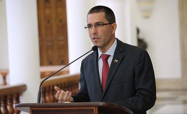 Jorge Arreaza, Canciller de Venezuela | Foto: Twitter