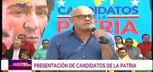 Jorge Rodríguez, Alcalde del municipio Libertador | Foto: Captura de pantalla