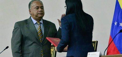 Elvis Amoroso es designado vicepresidente de la ANC en reemplazo de Istúriz | Foto: @ANC_Ve