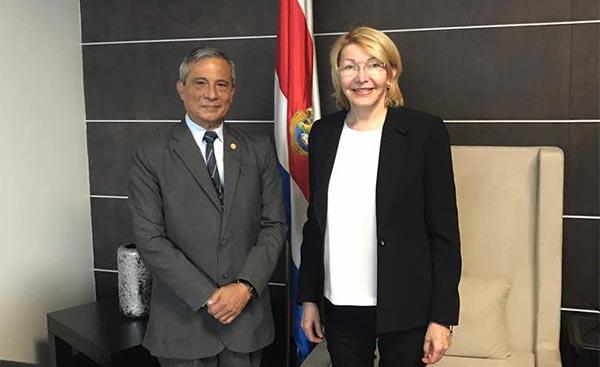 Luisa Ortega Díaz, Fiscal general destituida por la ANC   Foto: Twitter