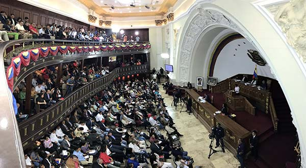 Asamblea Nacional Constituyente (ANC)   Foto: @ANC_Ve
