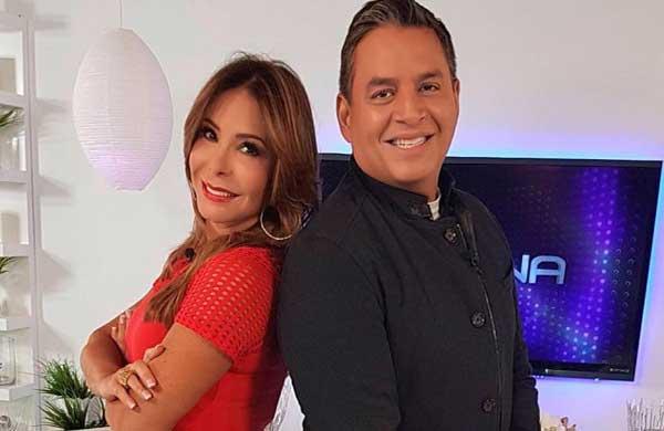 Daniel Sarcos y Viviana Gibelli se reencontraron en Miami | Foto cortesía
