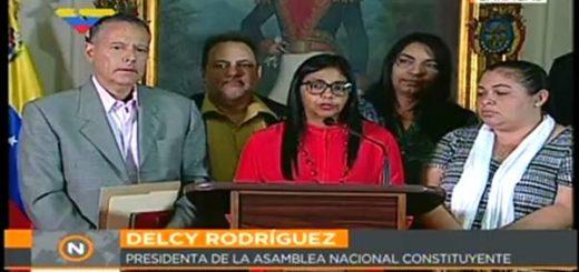 Delcy Rodríguez encabeza la Comisión de la Verdad |Foto: @ReporteYa