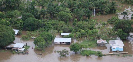 Fuertes inundaciones en Delta Amacuro |Foto: Jorge Galindo