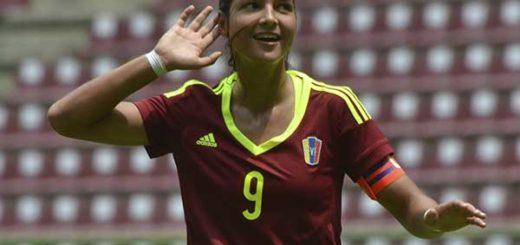 Deyna Castellanos nominada al premio a la Mejor jugadora de 2017 | Foto cortesía