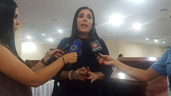 Diputada por la Unidad, Larissa González |Foto: Nota de prensa