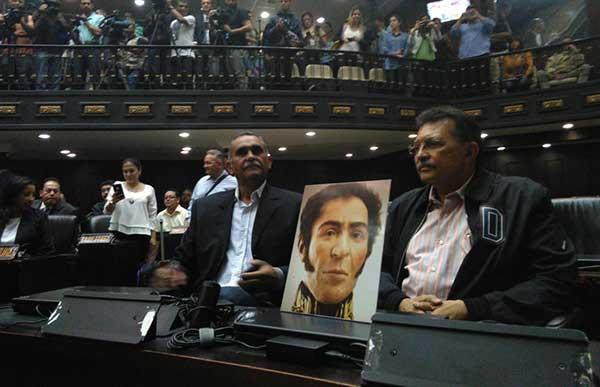 "Diputados chavistas crean ""Bloque Parlamentario Socialista"" para unirse a la AN   Foto: @AsambleaVE"