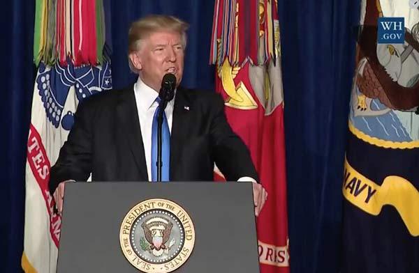 Donald Trump, presidente de EEUU  Foto cortesía