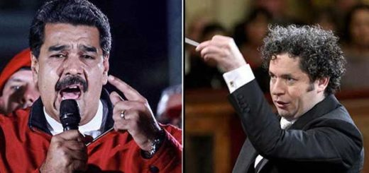 Nicolas Maduro / Gustavo Dudamel | Foto: Composición Notitotal