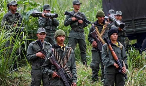 Ejercicio militar de la FANB | Foto: EFE