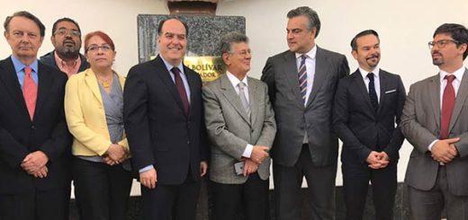 Más Embajadores de Francia, Reino Unido, España y México, en el Palacio Legislativo |Foto: Prensa AN