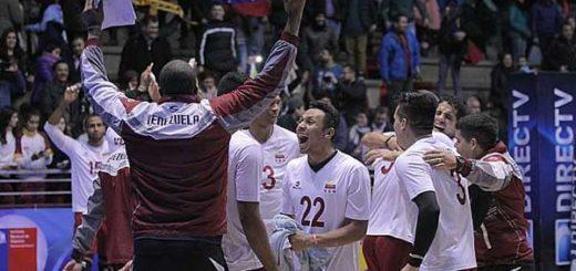 Venezuela disputará la gran final del Sudamericano de vóleibol ante Brasil | Foto: Max Montecinos