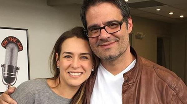 Luis Chataing y Érika de la Vega |Foto: Instagram