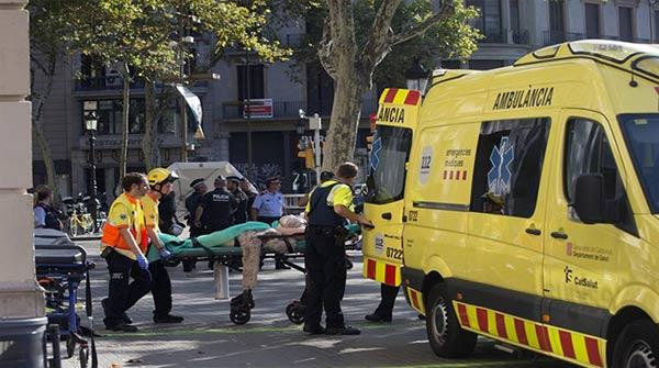 Atentado en Barcelona, España |Foto: EFE