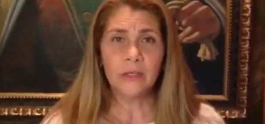 Esposa de Raúl Baduel   Captura de video