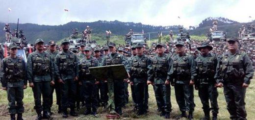 FANB rechaza amenaza militar de EEUU |Foto: Ministerio de Defensa