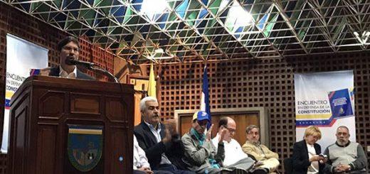 Unidad y demás sectores políticos del país se unen por la Defensa de la Constitución |Foto: Prensa AN