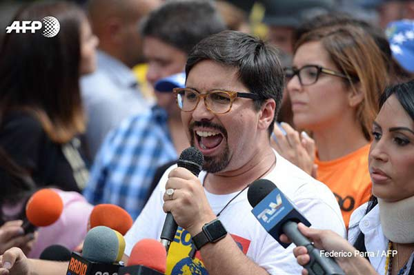 Freddy Guevara, vicepresidente de la Asamblea Nacional |Foto: AFP
