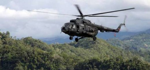 Helicóptero venezolano sobrevoló Colombia |Foto referencial
