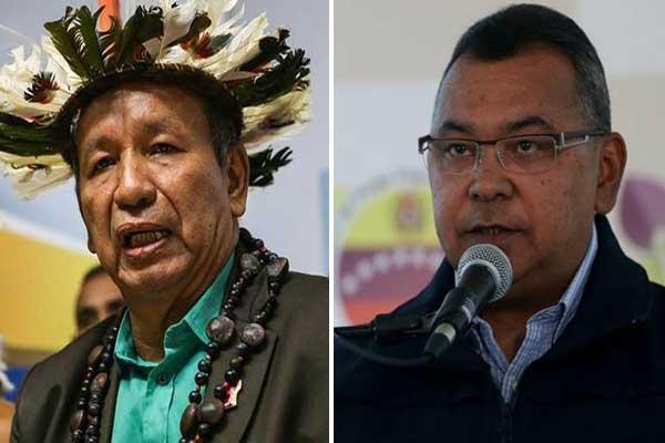 Reverol responsabilizó a Guarulla por masacre en cárcel de Amazonas   Composición: NotiTotal