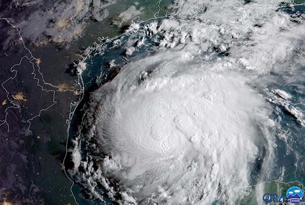 Tormenta Harvey, posiblemente la más poderosa de los últimos años  Foto: Reuters