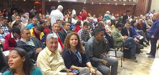 Constituyentes se reúnen este martes en el hemiciclo de sesiones de la AN | Foto: @DrodriguezVen
