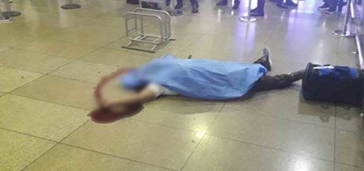 Asesinan a hombre dentro del aeropuerto de Maiquetía | Foto: @RCamachoVzla