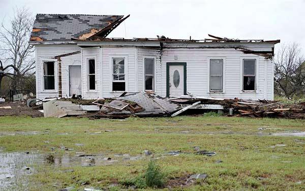 Paso del Huracán Harvey | Foto: EFE