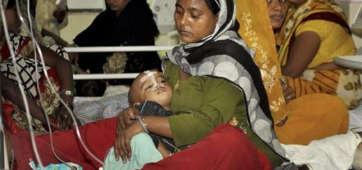 Las muertes se registraron en un Hospital del norte de La India | Foto:   The Hindustan Times