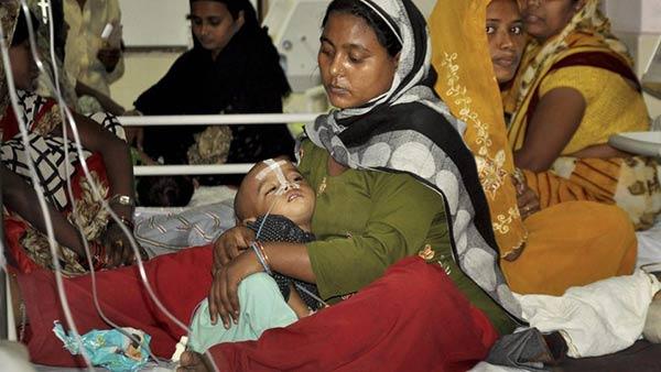 Las muertes se registraron en un Hospital del norte de La India | Foto:   The Hindustan Times
