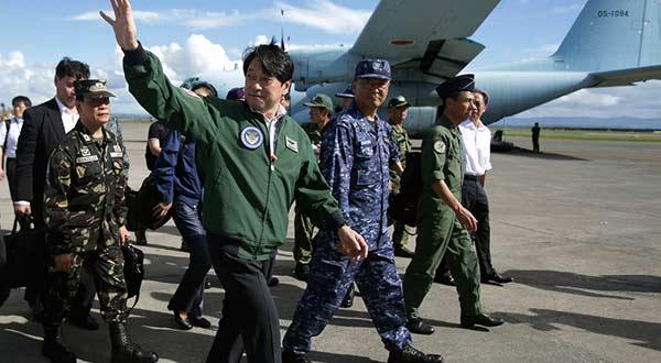 Jefe de Defensa de Japón, Itsunori Onodera |Foto cortesía