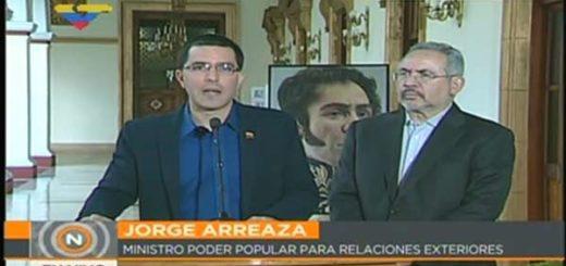 Jorge Arreaza, canciller de Venezuela |Foto: VTV